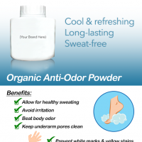 Organic Anti-Odor Powder