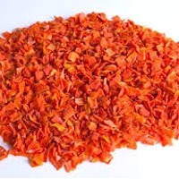 Dehydrated Carrot Flakes (with Sugar)