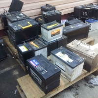 Used Car Battery and Drain Car Battery Scrap