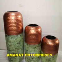 Iron and Aluminium Vases