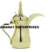 Dallah: Steel Finish Dallah For Coffee