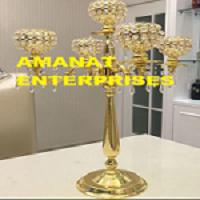 Wedding Decoration items: Candleabras