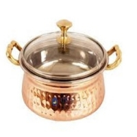 Copper Stainless Steel Serving Handi