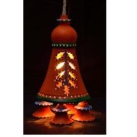 Terracotta Hanging Lamps