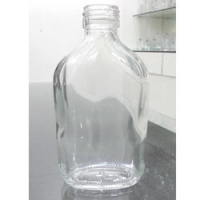 205 ml Flat Generic Empty Glass Bottle