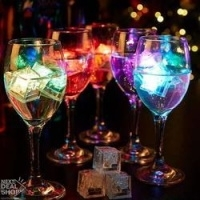 LED Glow Cubes (Multiple Colors) Pack of 6Pcs.