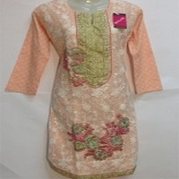 Ladies Embroidered And Stitched Kurti