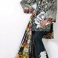 Silk Suit For Ladies