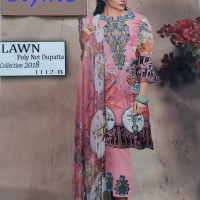 Printed & Embroidered Lawn Suits for Women