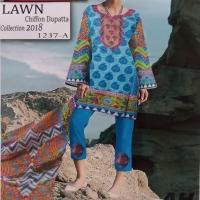 Ladies Lawn Shalwar Qameez