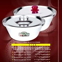 Alu. Shawerma Pot Set 8pcs