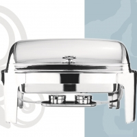 Stainless Steel Chafing Dish Roll Top