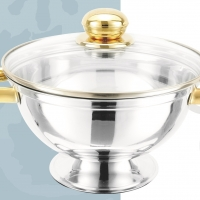 Stainles Steel Soup Tureen