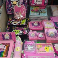 Barbie And Pucca Stationery Products