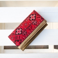 Womens Wallet, Gold Blood Wallet