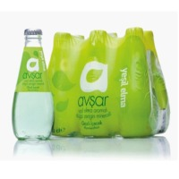Green Apple Flavored Mineral Water