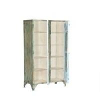 Cabinet With Metal Net Door