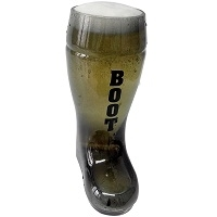 Beer Boot Glass Smoke