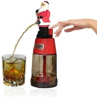 Santa Claus Round Liquor Dispenser