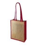 Jute Natural Shopping Or Tote Bag