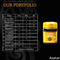 Avatar's NZ Manuka Honey MGO Lab Certified