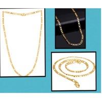 Figaro Link Chain Inspired From Golden Links