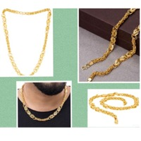 Handmade Gold Plated Link Chain