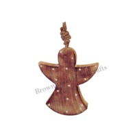 Wooden Christmas Hanging Ornament