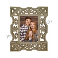 Wooden Carved Photo Frame