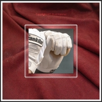 Embossed Batting Glove Leather