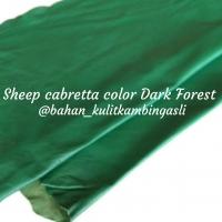 Leather Gloves Sheep Cabretta Col Dark Forest