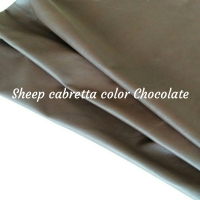 Leather Gloves Sheep Cabretta Col Chocolate