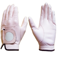 Golf Glove Full Leather Color Lt. Pink
