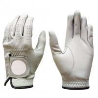 Golf Glove Full Leather Color Lt. Grey