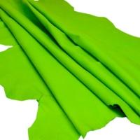 Sheep Skin For Garment Color Half Green