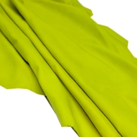 Sheep Skin For Garment Color Half Yellow