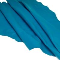 Sheep Skin For Garment Color Aqua