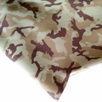 Sheep Cabretta Camuflage Color Beige for Gloves