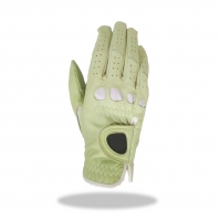 Golf Glove Color Lt. Green Combined White Lycra