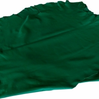 Sheep Cabretta Color Green For Gloves