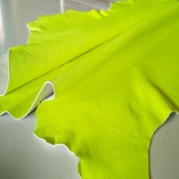 Sheep Cabretta Color Neon Yellow For Gloves
