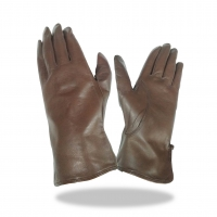 Batting Glove Full Leather Color Brown