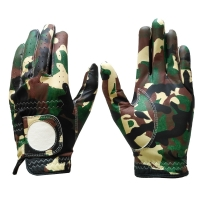 Golf Glove Full Leather Color Camouflage
