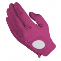 Golf Glove Full Leather Color Burgundy