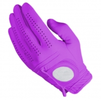 Golf Glove Full Leather Color Purple