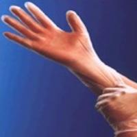 Vinyl Exam Glove, Clear, Lightly Pre-Powdered