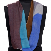 Wool Hand Painted Scarf