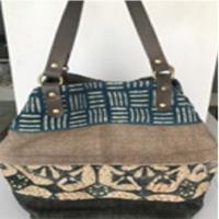 Cotton Rug Shopper Bag