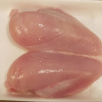 Frozen Bonless Chicken Breast