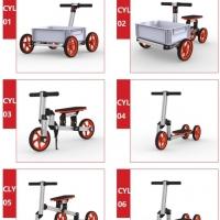 DIY Modular Constructible Rides Kit (6 in 1)